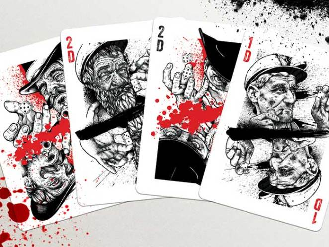 pitman_cards_2_dribbble Face Cards: The Intricate Playing Card Designs