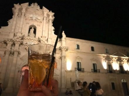 シチリア食い倒れツアー2018レポ </br>〜4日目PM 可憐なシラクーサ!ドゥオモ前でアペリ、そして最後の晩餐へ!