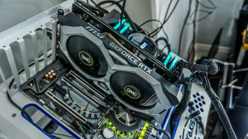 Image of MSI Geforce RTX Driver in Lava eSports Centre