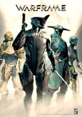 Warframe which is available to play at Lava Esports.