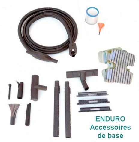 Kit accessoires de base fourni avec Enduro