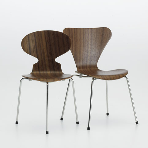 Ant Chair and Series 7 Chair