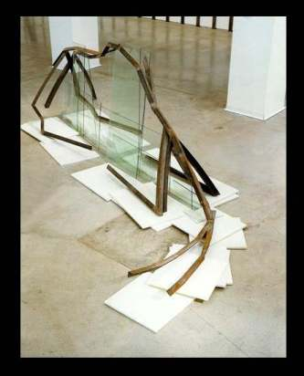 """""""La Herida Alpina"""", del escultor Nacho Criado."""