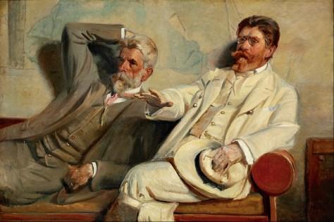 Michael_Ancher_-_Art_critics._Study_-_Google_Art_Project