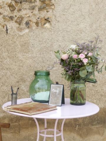 location boite à lettres vintage pour mariage en bourgogne