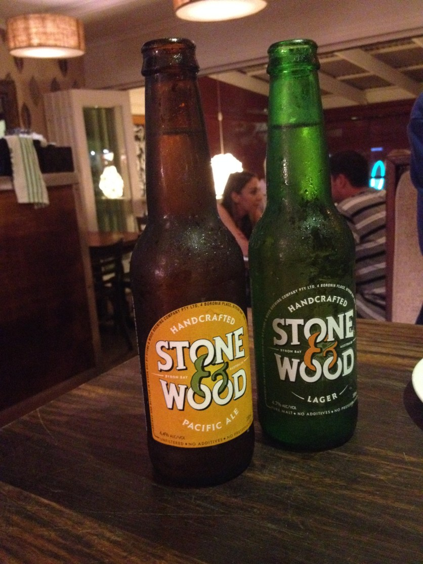 Stone Wood Beer, Byron Bay (Photo Credit: lavaleandherworld.wordpress.com)