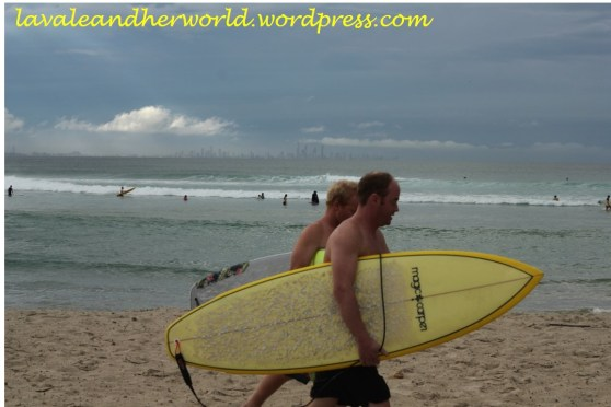 Surfers @ Tweed Heads (Photo Credit: lavaleandherworld.wordpress.com)