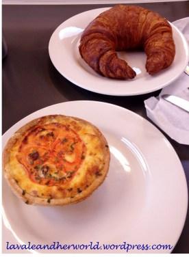 Croissant & tomato,Bacon & Egg Quiche_Barkmill Tavern & Bakery_Swansea