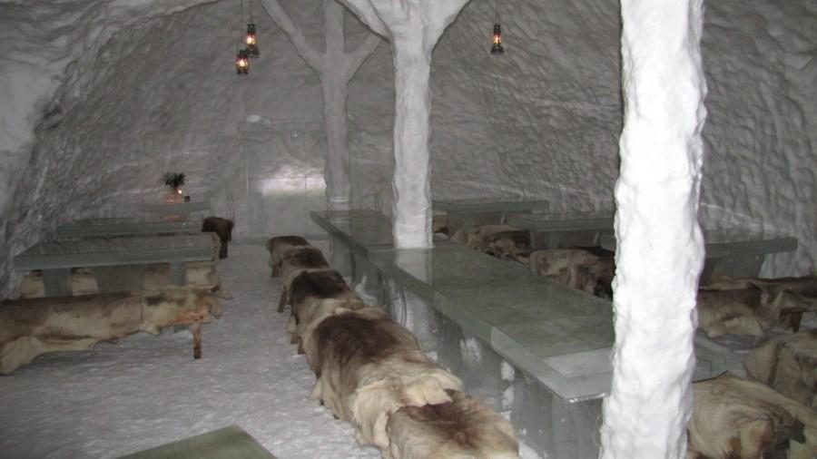 ristorante di ghiaccio rovaniemi