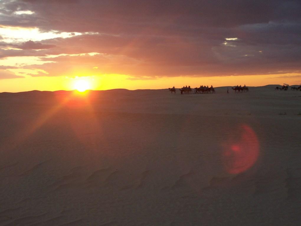 Sahara_tramonto