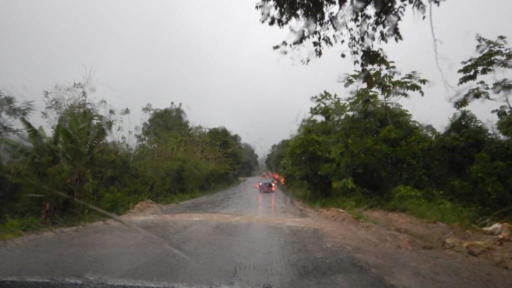 Pioggia in Messico