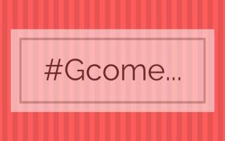#Gcome