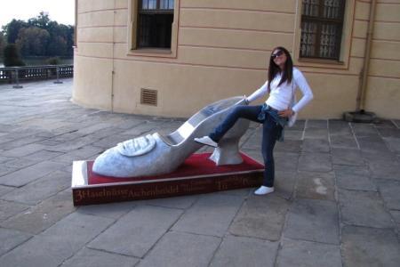 Foto con statue 8