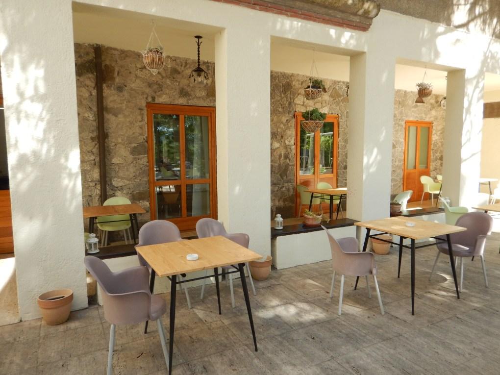 ristorante esterno borgo villa Maria