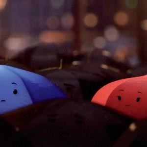 ombrello blu pixar