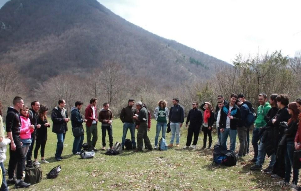 interpretazione ambientale  gruppo