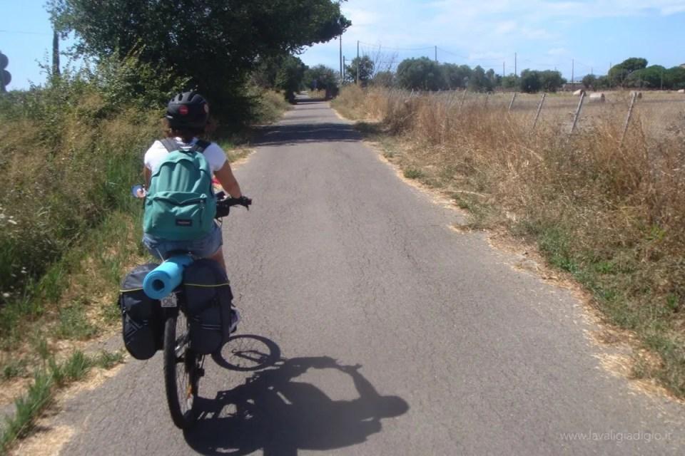 viaggiatore sostenibile - viaggiare in bici maremma toscana