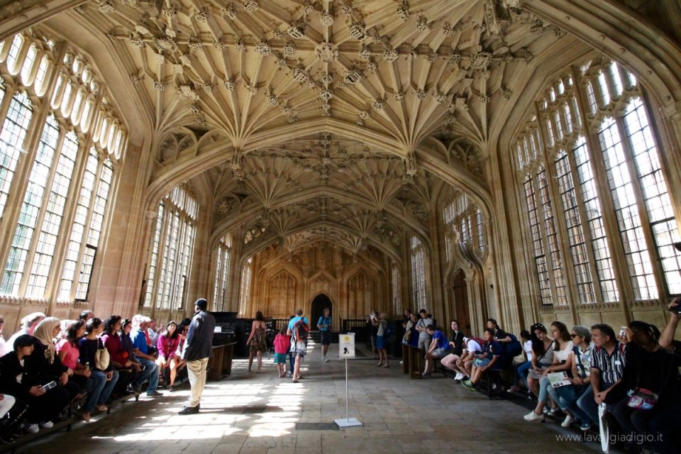 i luoghi di harry potter ad oxford divinity