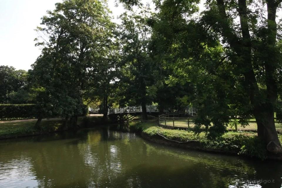 i luoghi di Tolkien ad Oxford giardino