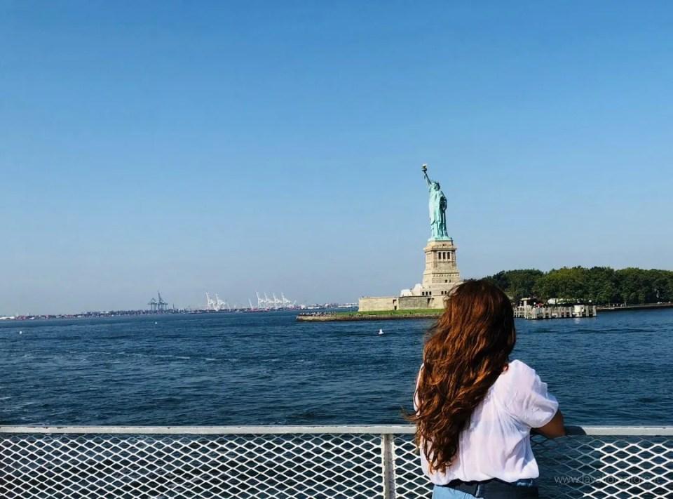itinerario New York statua della libertà