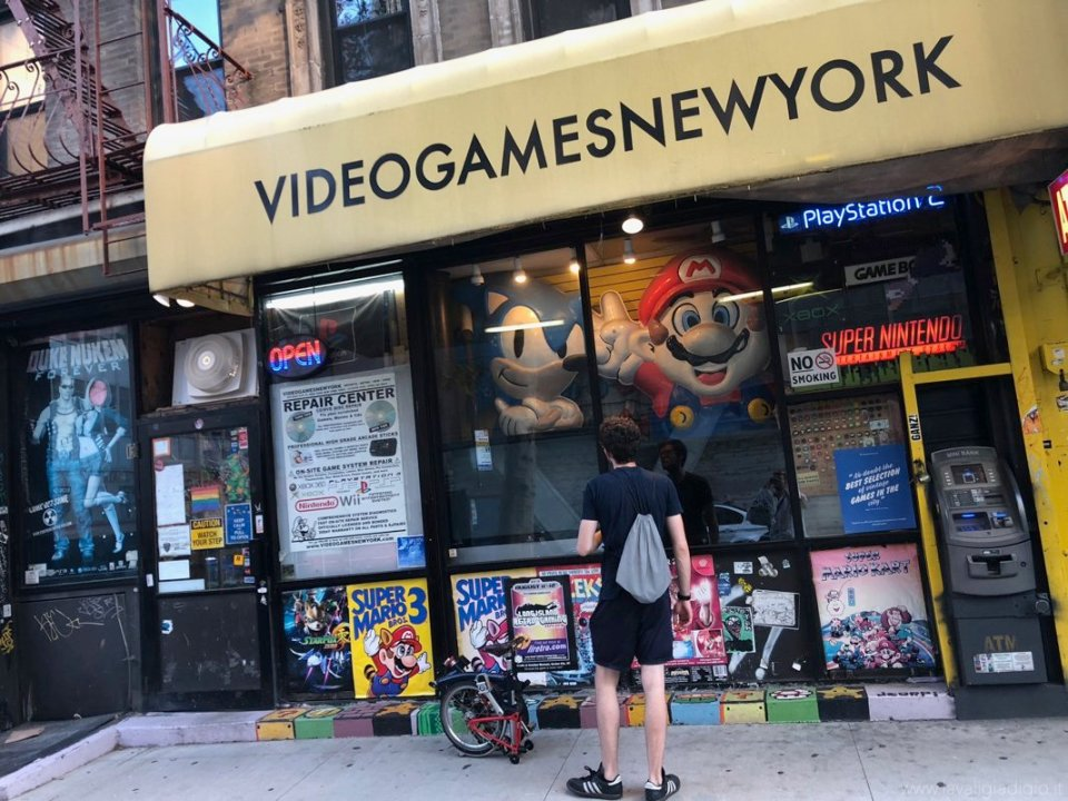 negozi nerd a new york videogamesnewyork shopping