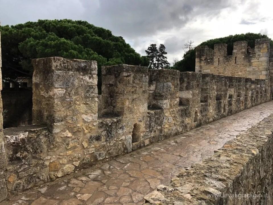 Lisbona dall'alto - Castelo de Sao Jorge