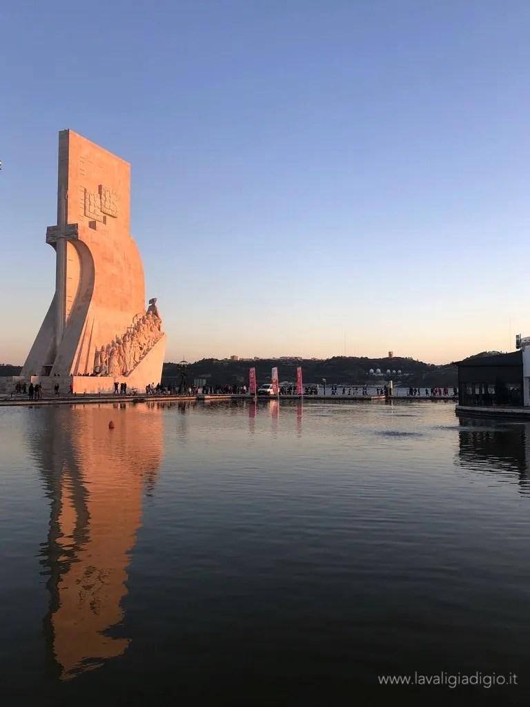 Lisbona dall'alto - Padrão dos Descobrimentos
