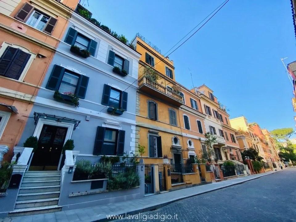 piccola Londra a roma nel Quartiere Flaminio