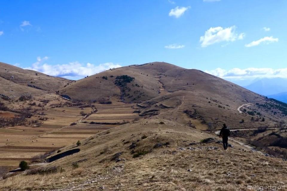 rocca calascio come arrivare a piedi Santo Stefano