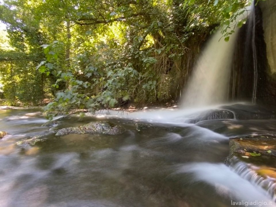 cascate del fiume - monte gelato - Viterbo