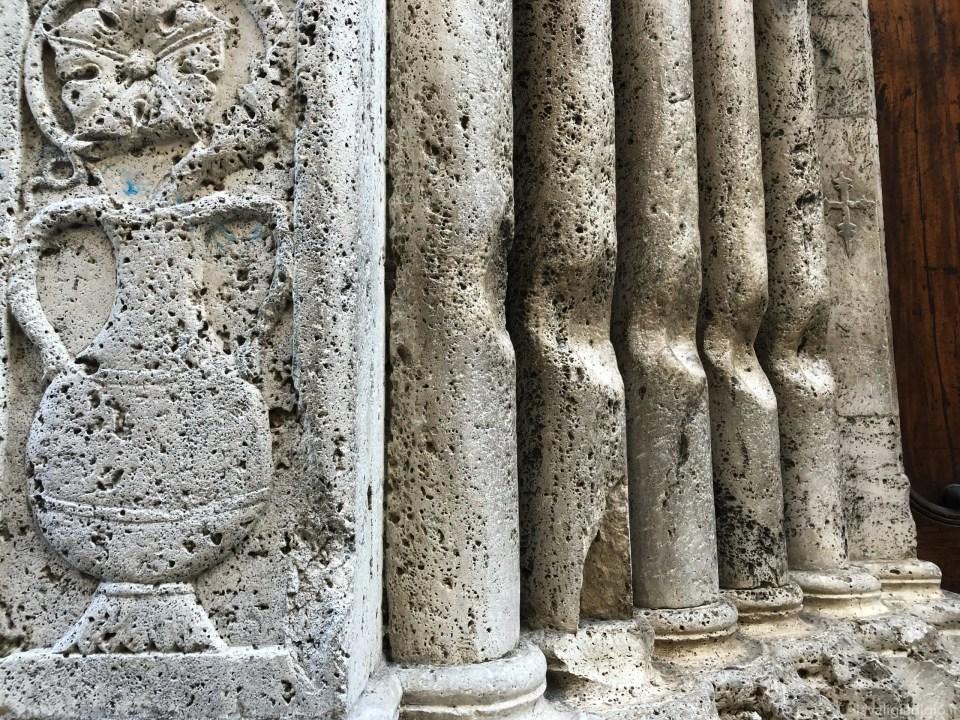 cosa vedere ad Ascoli Piceno in un giorno colonnine canne d'organo