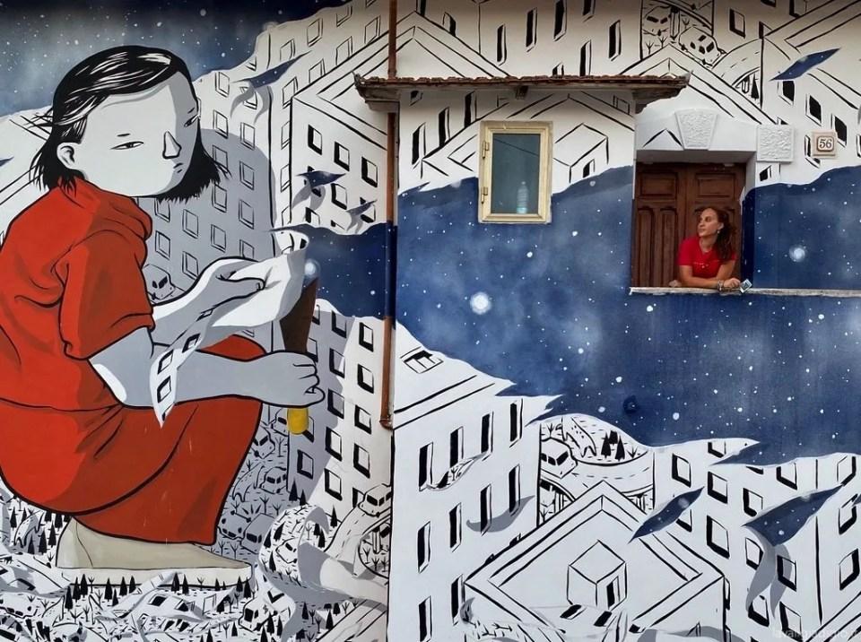 murales di Aielli millo