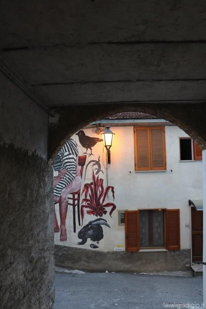 murales di Aielli Nicola alessandrini