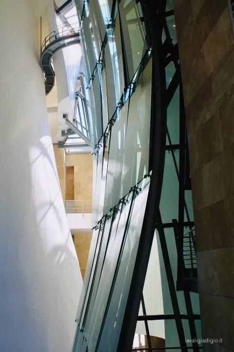cosa vedere a bilbao  Guggenheim interno