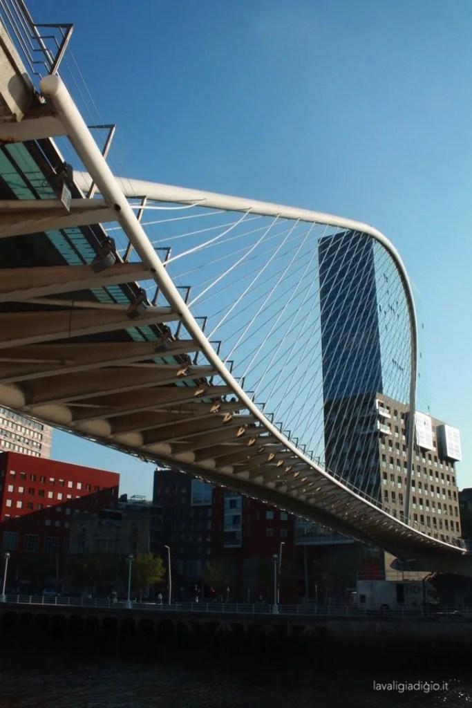 cosa vedere a bilbao Zubizuri Calatrava