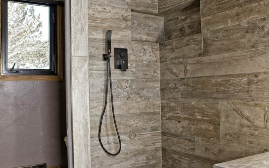 Amazing Master Shower Remodel