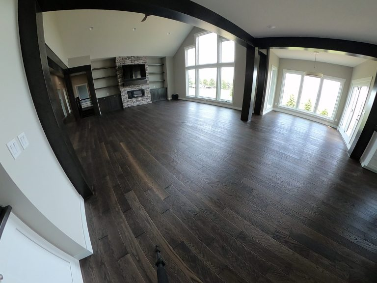 This is an example of an engineered Wickham hardwood installation we did in Fargo North Dakota.