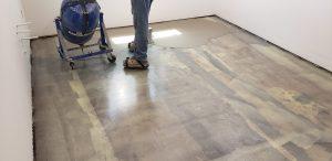 Self Leveling with Uzin 150. Many basements need self leveling regardless of flooring.