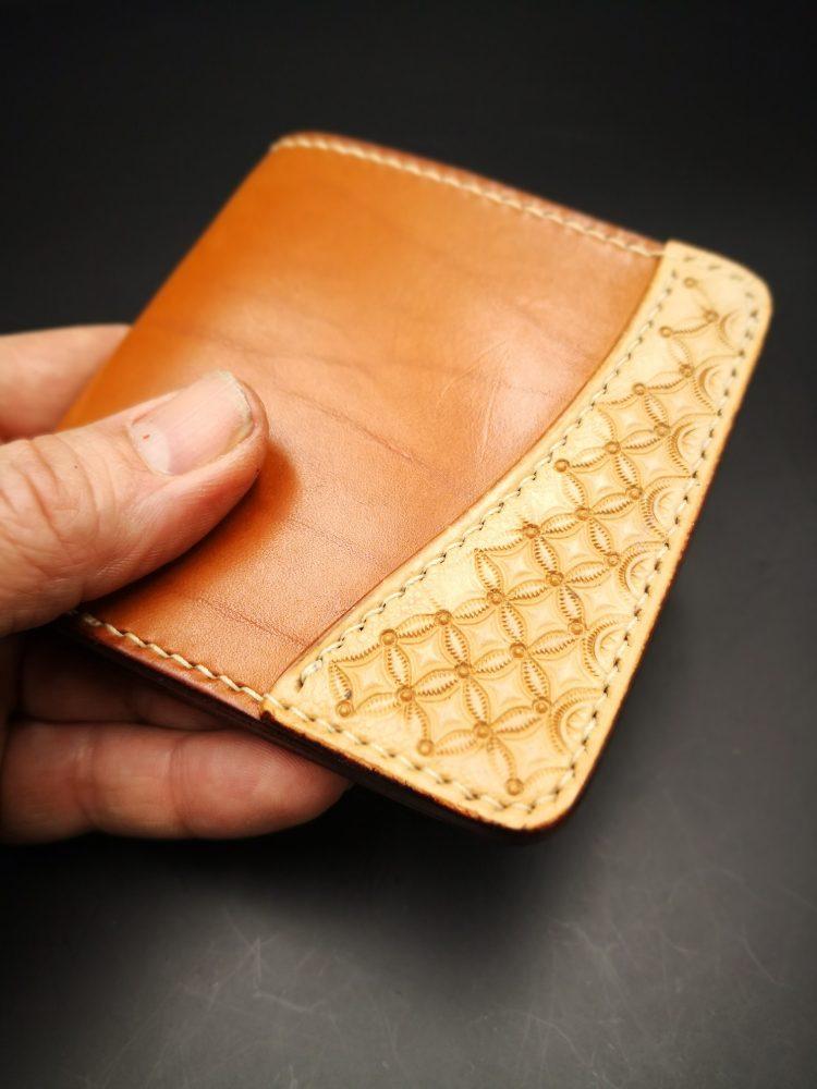 porte carte cuir