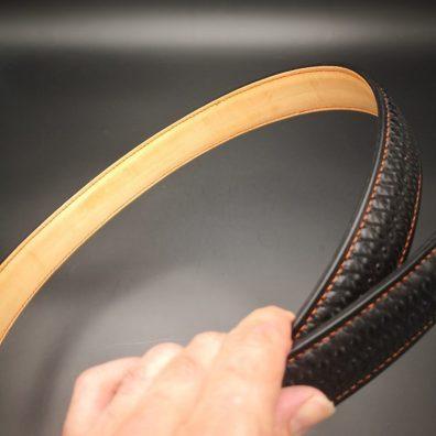 ceinture cuir repoussé