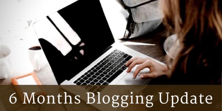 6 Months Blogging Update