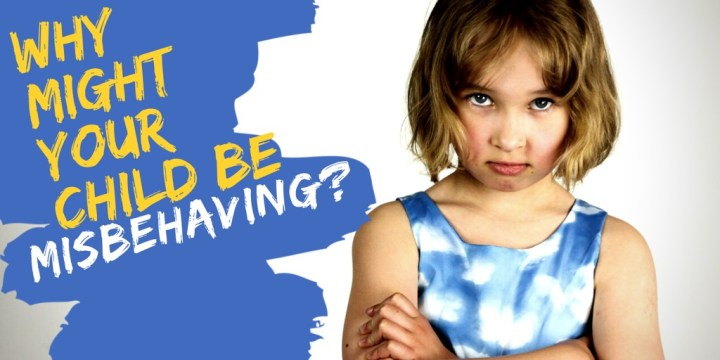 Why Might Your Child Be Misbehaving?