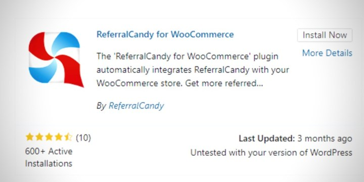 referralcandy for woocommerce