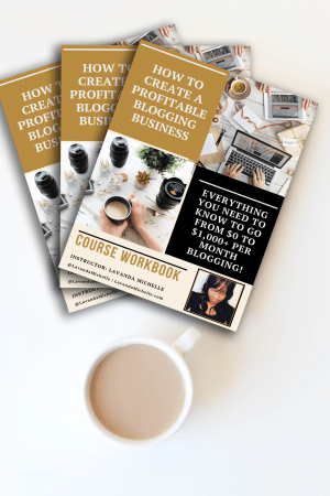 Everything You Need to Know to go from $0 to $1,000+ per month blogging!