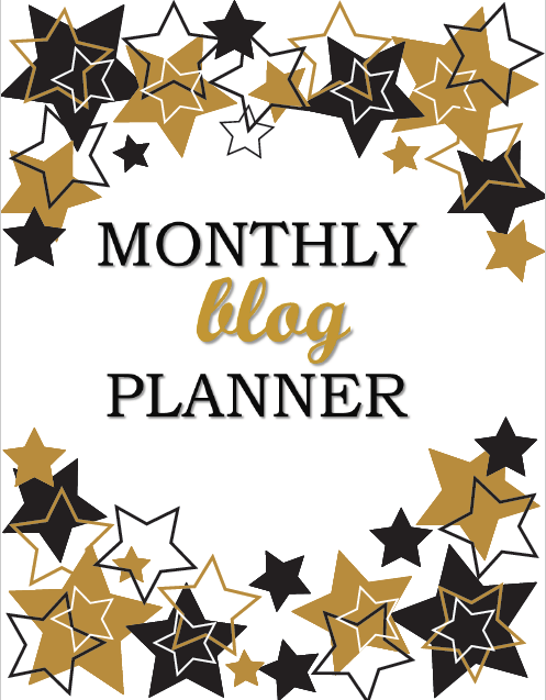 Download My Monthly Blog Planner