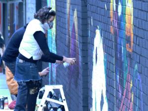 Lavapiés Diverso 2015 | 'Muro Abierto' | Jam de graffiti y arte urbano | 22/11/2015 | 9 | Foto Yolanda Pérez