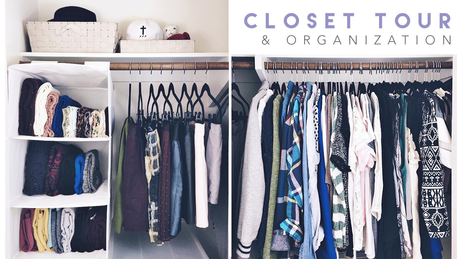 closet tour | lavendaire.com