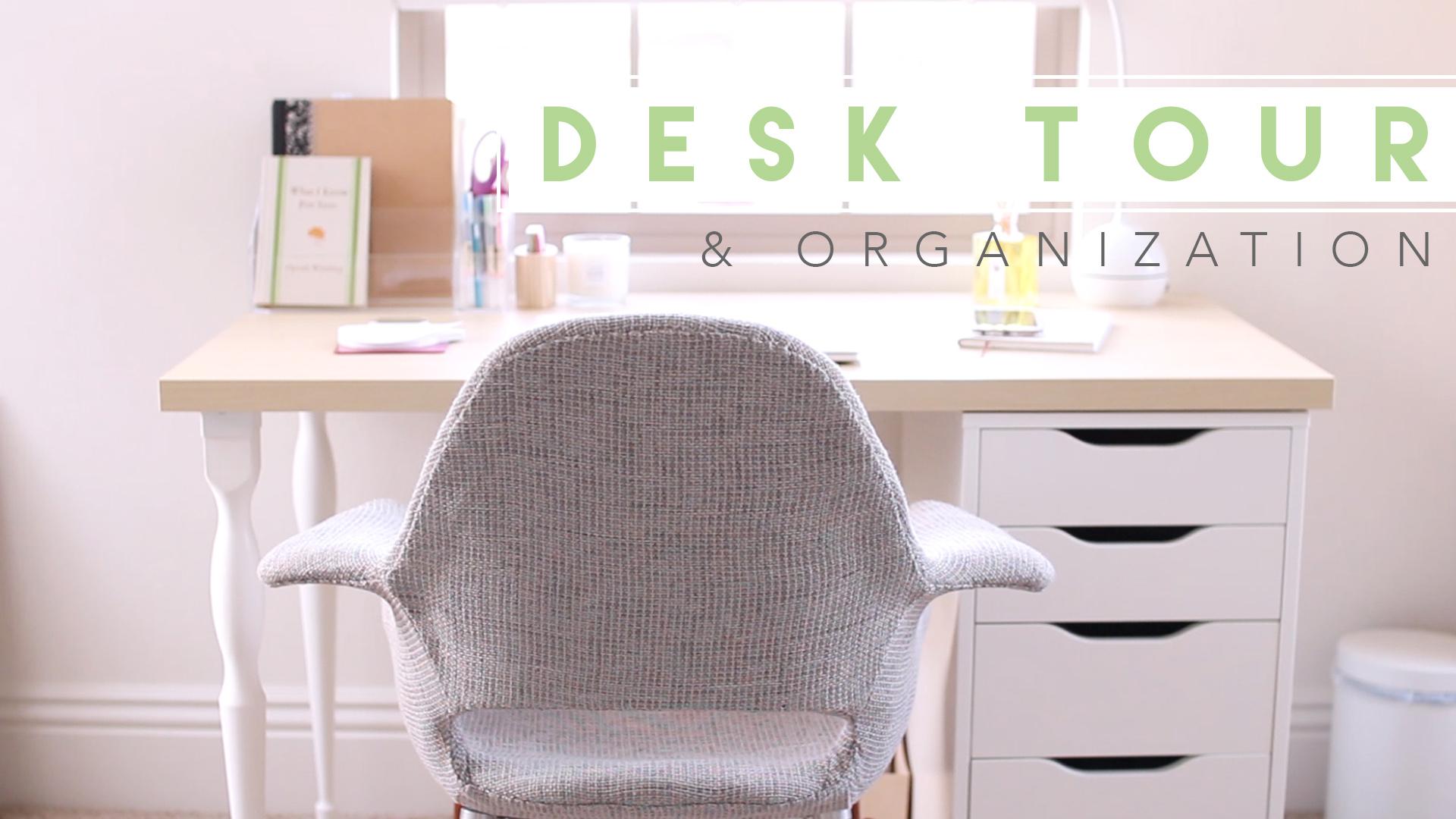 Desk Organization | Lavendaire.com