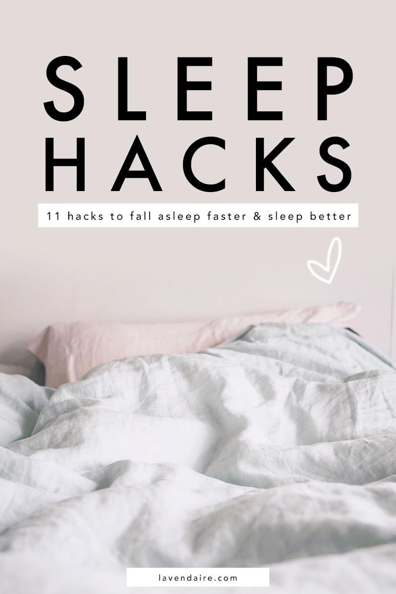 sleep hacks | life hacks for sleep | how to fall asleep fast | sleep better | improve sleep | sleep cocktail | sleep tips