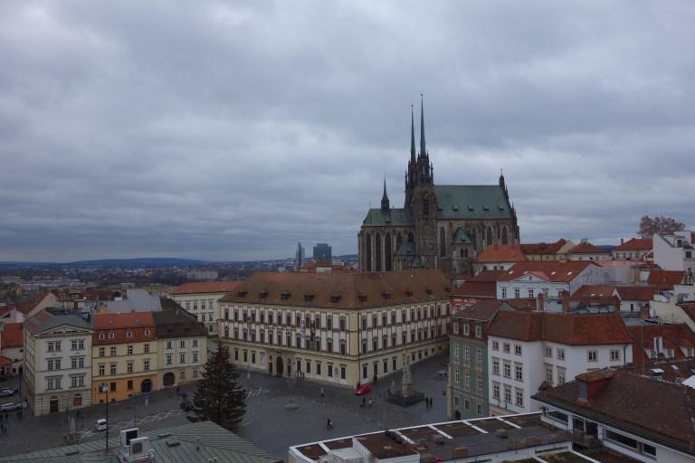 Blick auf Kathedrale und den Krautmarkt